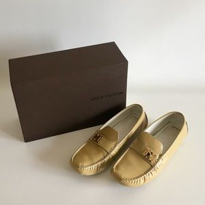 Louis Vuitton Nude Lombok Loafers
